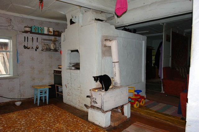 Домашняя печка