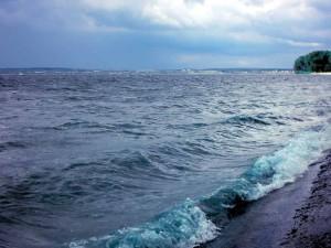 Шторм на море
