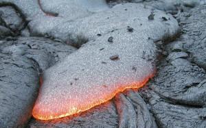 Базальтовая лава