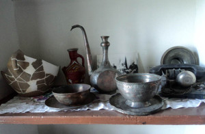 Старинная посуда