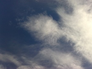 Тучи на небе