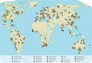 Мировые запасы полезных ископаемых