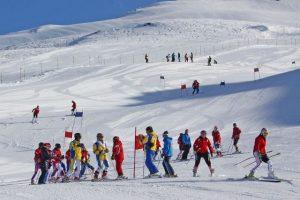 На горных лыжах
