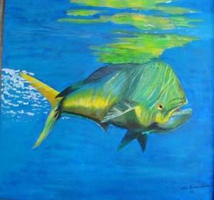 Рыба дельфин