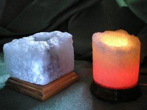 Солевой светильник