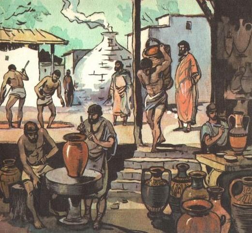 Греческие гончары