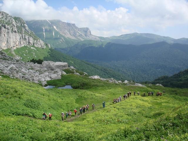 Излюбленные районы Кавказа