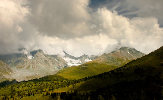 Климатические условия горного района