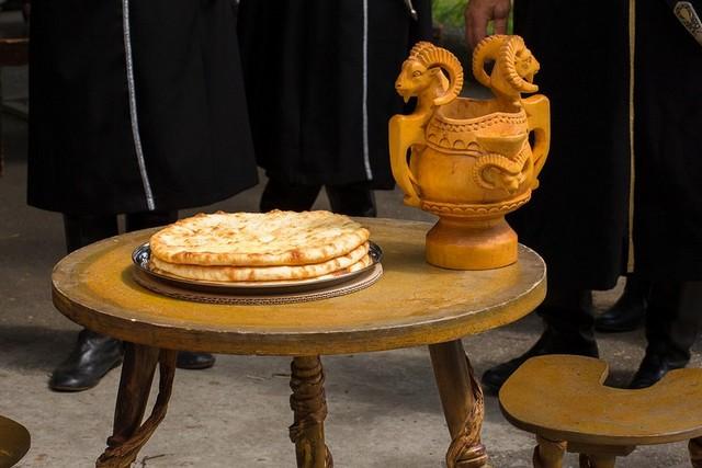Блюдо осетинской кухни