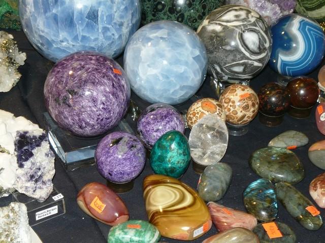 Минеральные кристаллы