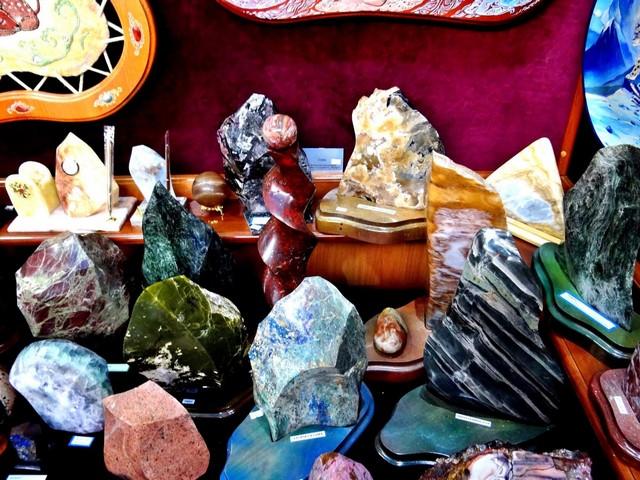 Неоднородные минералы