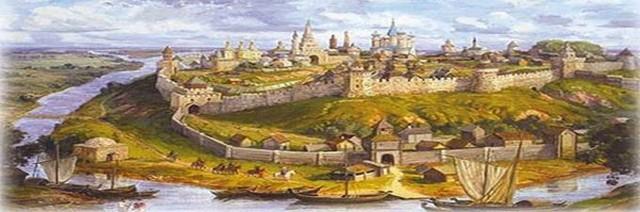 Укрепленная крепость