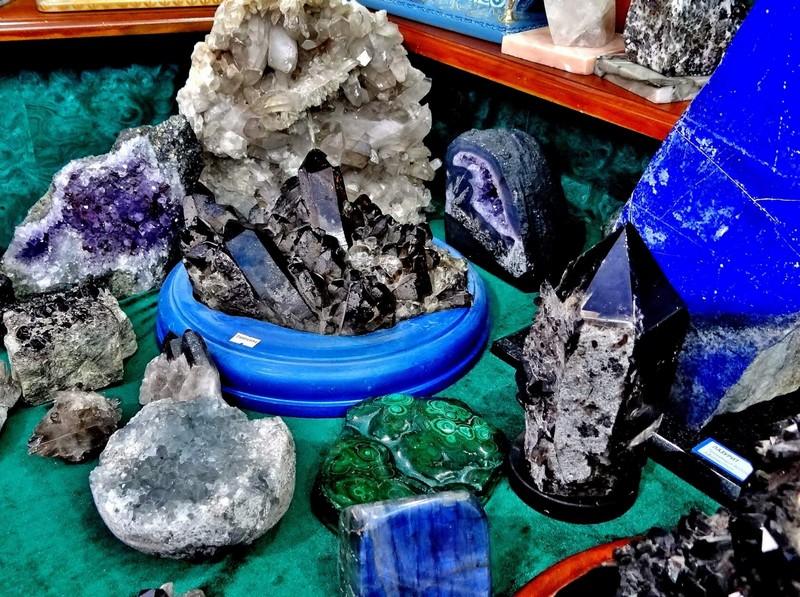 Кристаллические минераллы