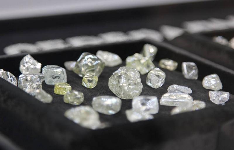 Прозрачные алмазы