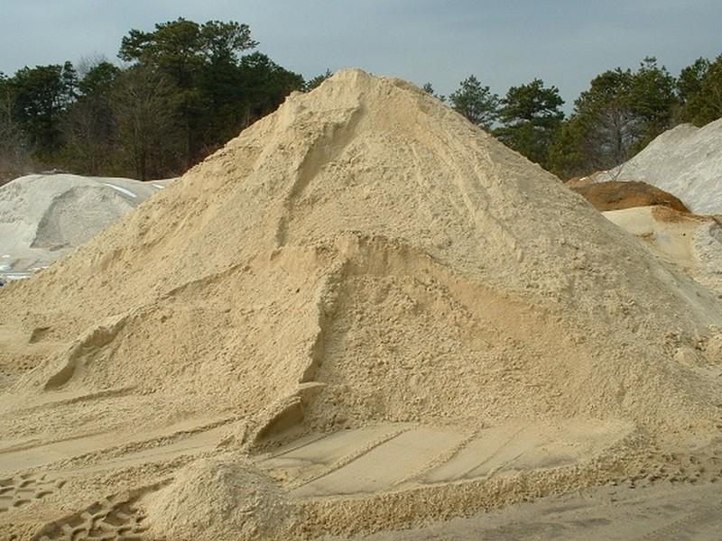 Полезное ископаемое песок